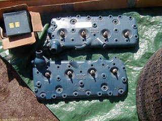 stock cast iron heads for 49-63 Ford flathead V8