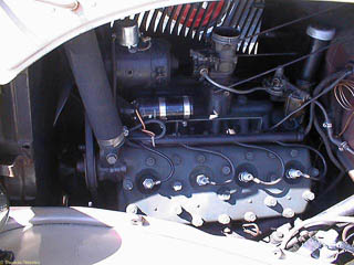 stock 1934 Ford flathead V8 engine
