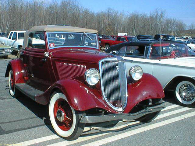 Image result for 1934 ford cabrolet mass