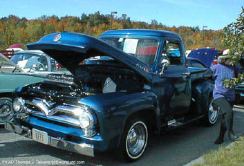 1955 F-100 with Y-code engine