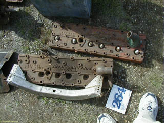 Flathead cylinder head for Willys
